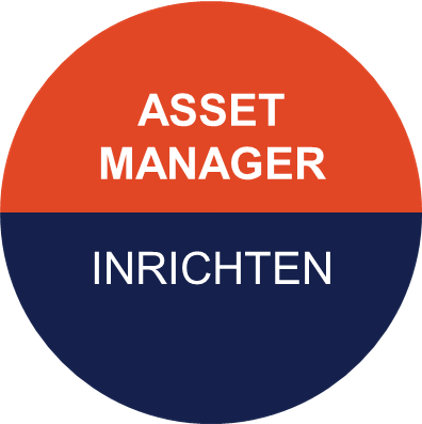 Icoon van Pragma voor asset manager - voor inrichten van de organisatie