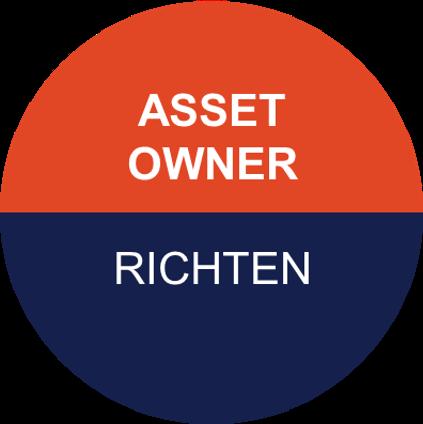 Icoon van Pragma voor asset owner - richten van de organisatie