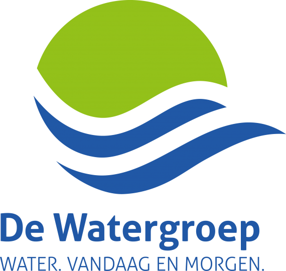 Logo van De Watergroep