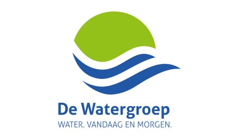 Uitgelichte afbeelding met logo van De Watergroep